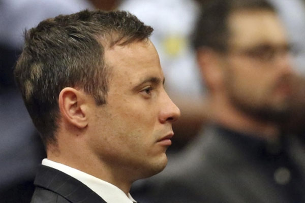 Pistorius gets 5 years for girlfriend's killing
