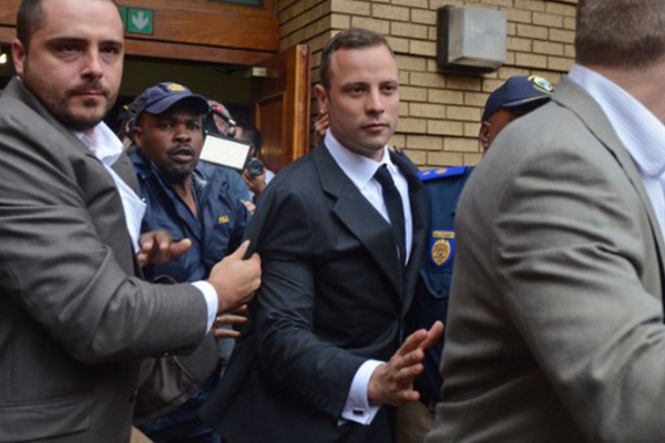 Prosecutor rips at Pistorius' version of events in murder trial