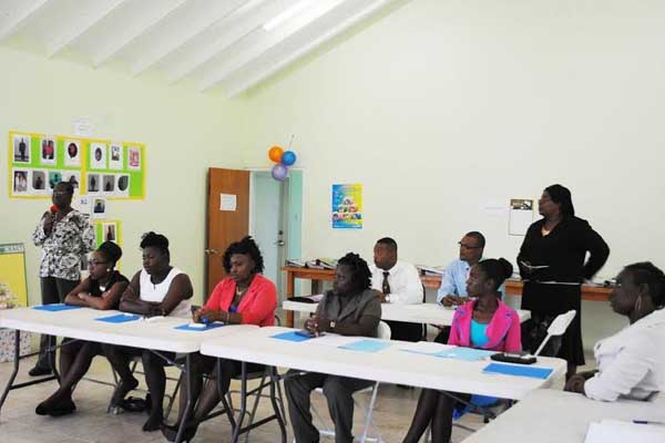 PEP Early Childhood Development trainees ready for business
