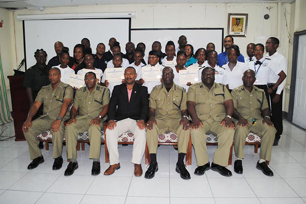 Police Commissioner tells Island Constables responsibility comes with accountability; Lauds PEP for input in the training