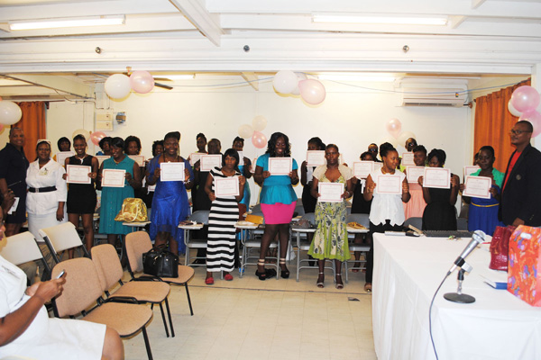 PEP-sponsored nursing attendants graduate from six-week programme