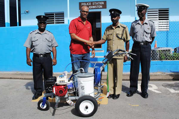 Traffic Department receives early Christmas gift from PEP