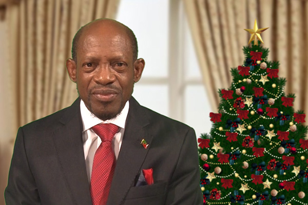 Prime Minister Douglas Extends Early Christmas Greetings