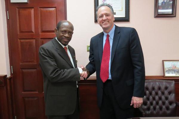 More jobs as Harowe Servo informs PM Douglas of expansion plans