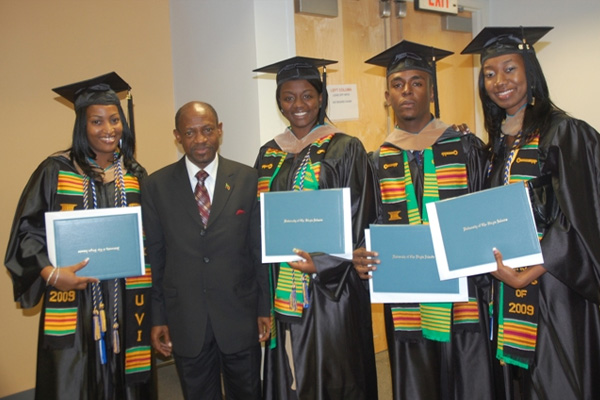 St. Kitts and Nevis students among the increasing number of transfers at UVI