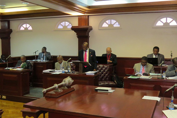 St. Kitts and Nevis' economy shows signs of easing, reports Prime Minister Douglas