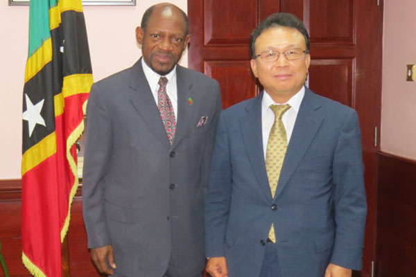 South Korean Ambassador bids farewell, says St. Kitts and Nevis progressed under PM Douglas' leadership