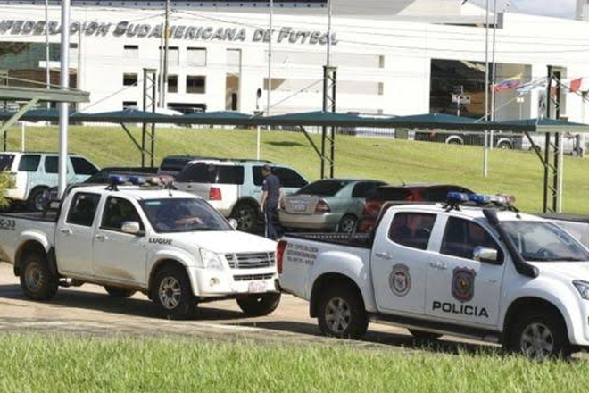 Paraguay police raid Conmebol HQ near Asuncion