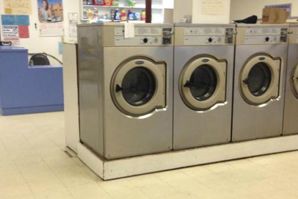5-y-o girl trapped inside running washing machine