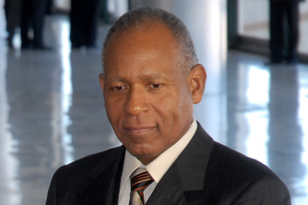 Prime Minister Harris reacts to the death of Prime Minister Patrick Manning