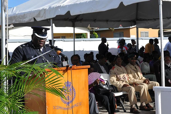 Graduating Police Class Benefits from Milestones