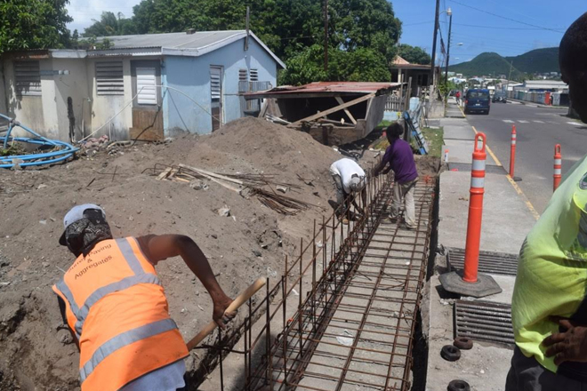 Repairs on Pond Road drain to help reduce flooding