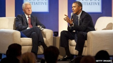 Clinton: Obama should honour healthcare commitment