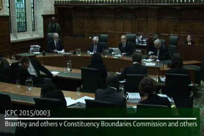 Privy Council Rejects Former Government's Attempts to change Constituency Boundaries