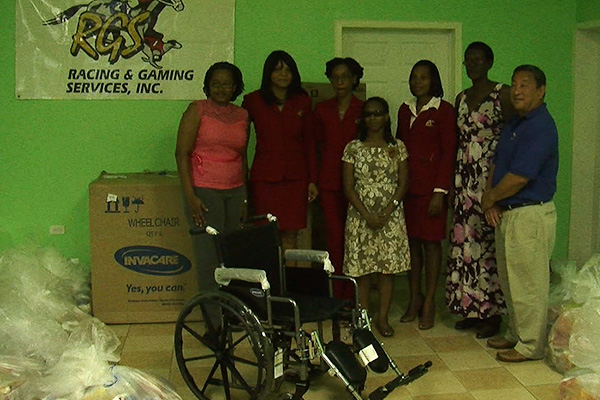 Gaming Company Donates to Families
