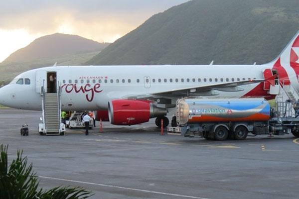 Air Canada rouge begins weekly flights to St. Kitts