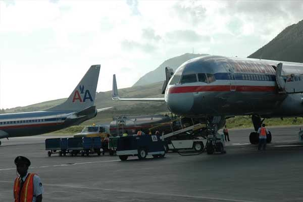 U.S. carriers brought in most passengers into St. Kitts Bradshaw airport in June
