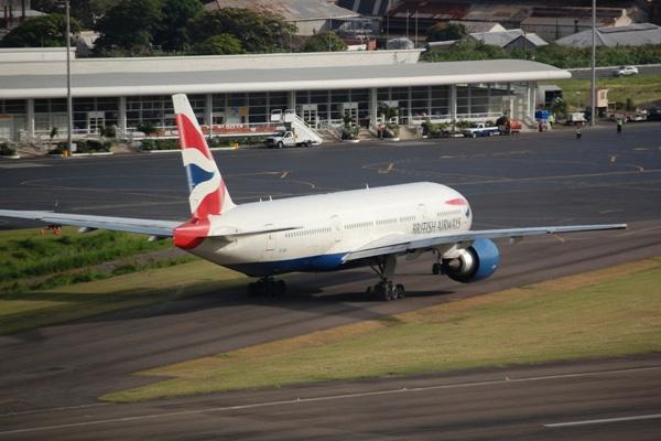 British airways modifying flight schedule to St Kitts