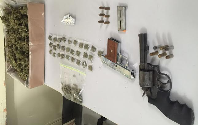 Two Illegal Firearms Recovered in Friday Night's Search Operations