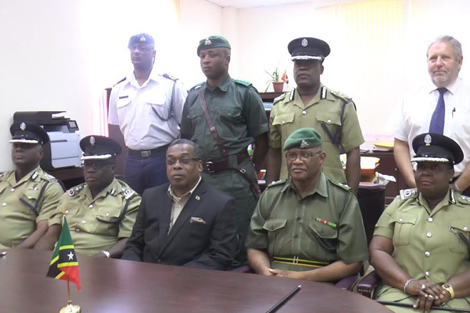 Minister Liburd meets with Police High Command to address scourge of crime