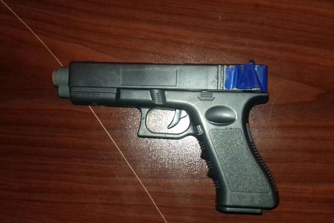 Fake guns and real ammunition found in search of abandoned properties