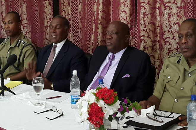 PM Harris visits Nevis Division, addresses Rank and File