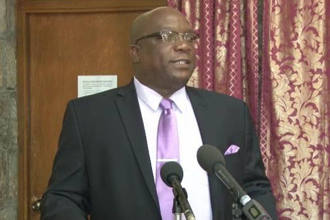 Prime Minister Harris Joins Premier Amory at Meeting with Nevis Police