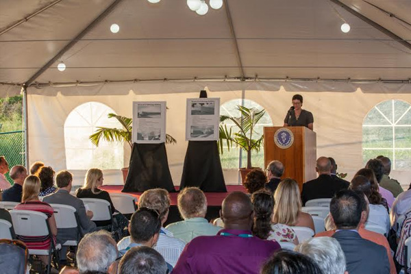 RUSVM Groundbreaking Ceremony Provides Foundation for New Research Facility