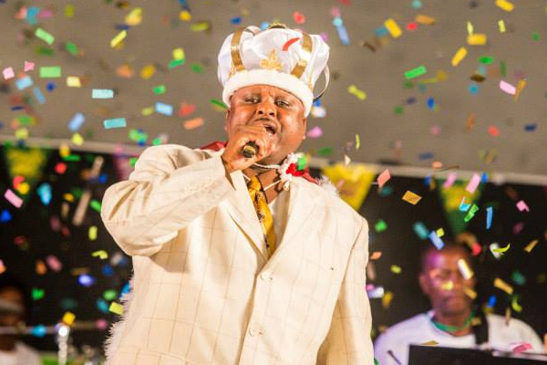 Ritchie Buntin crowned National Calypso King