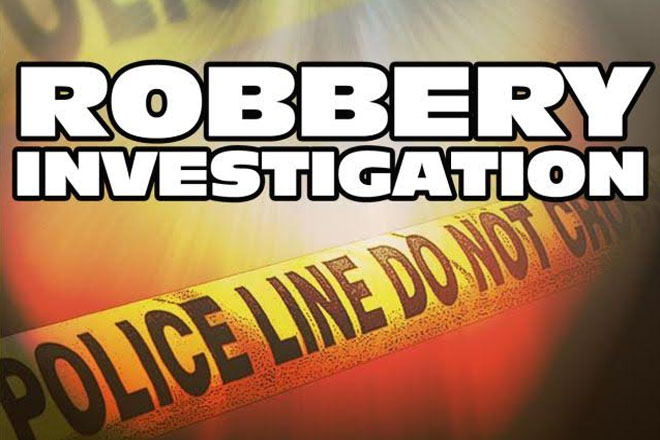 Robbery at community centre