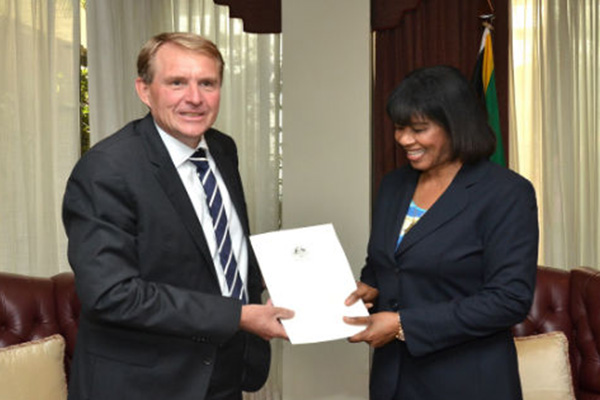 Ross William Tysoe, new Australian High Commissioner to Jamaica