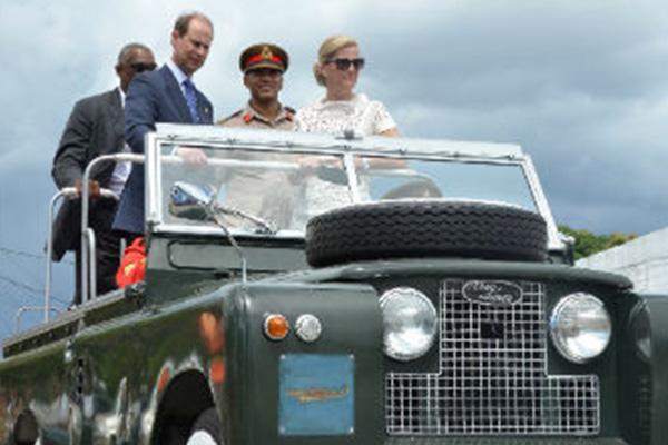 Photos: Royal tour JDF