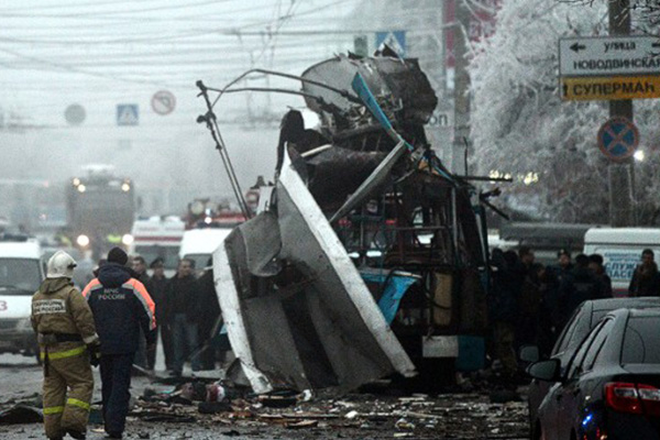 Russia IDs 2 in connection with Volgograd bombing