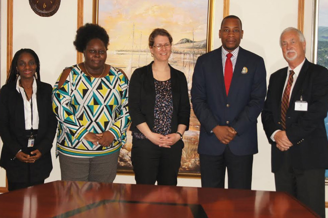 ECCB Governor holds discussions with SBFIC representatives