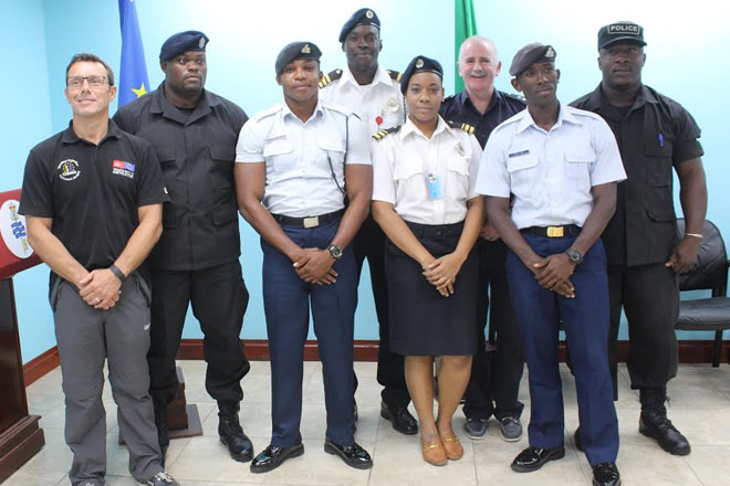 Officers receive vessel search training