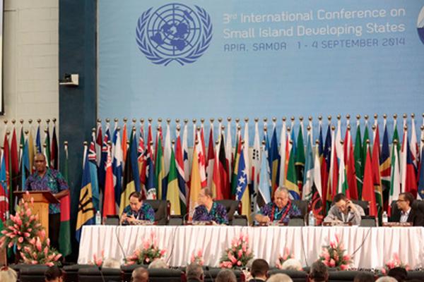 PM Douglas calls on international community help for SIDS