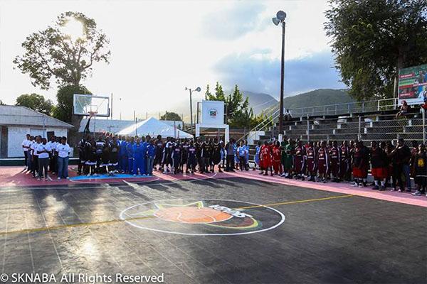 SKNABA Basketball League opens with a bang!