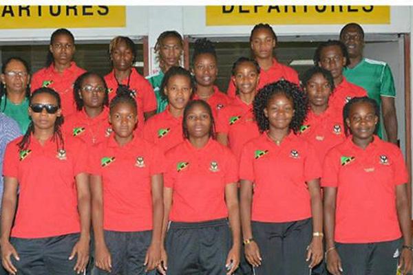 SKN Female Football Team holding their own