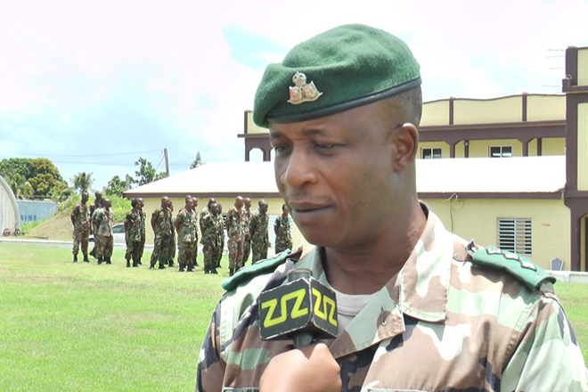 St. Kitts Nevis Defence Force welcomes over 40 recruits