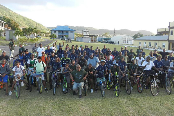 The St Kitts Nevis Defence Force held 13th Annual Fun Biking