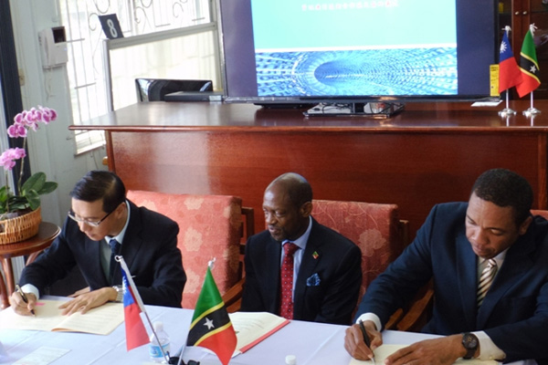 St. Kitts and Nevis and Taiwan ink new five-year ICT Agreement