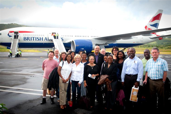 Federal Minister Ricky Skerritt leads tourism delegation targeting the UK market