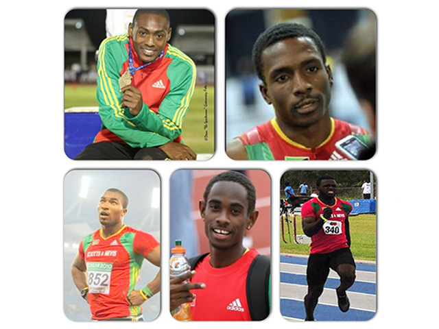 SKN Team Selection – 5 Athletes & 2 Officials for Inaugural IAAF World Relays