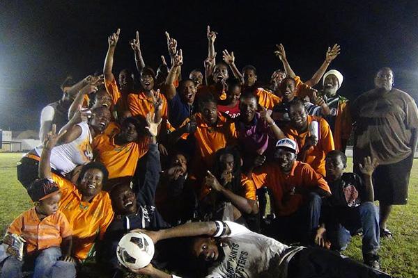 SL Horsfords Highlights Champions of Nevis Football – 2014