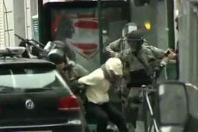 Paris attack suspect arrested