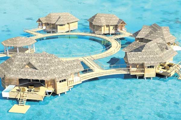 Sandals to open Caribbean's first over-the-water suites Nov