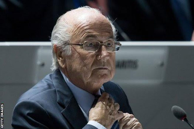 FBI Probing Sepp Blatter Role In $100m Bribery Scandal