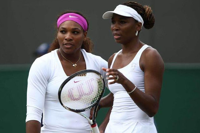 Wimbledon 2016: Serena and Venus Williams into women's doubles final