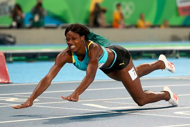 Rio Olympics 2016: Shaunae Miller wins 400m gold in thrilling finish