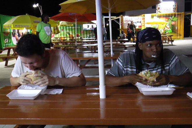 Shawarma Eating Competition